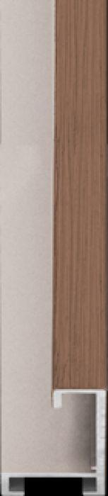 largo aluminium lijst  35-321 nut verneer,raw