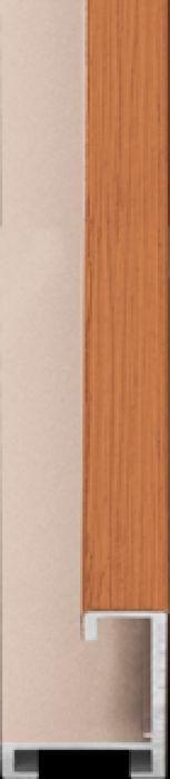 largo aluminium lijst  35-323 cherry veneer