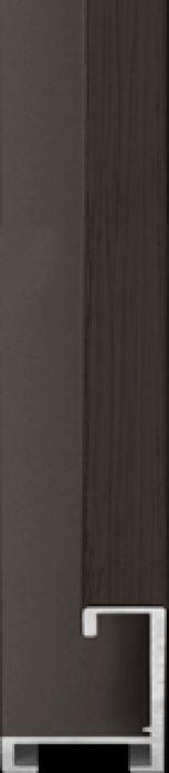 largo aluminium lijst  35-326 donker bruin