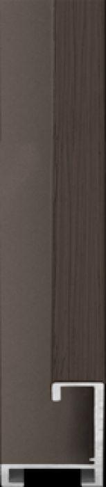 largo aluminium lijst  35-327 bog oak