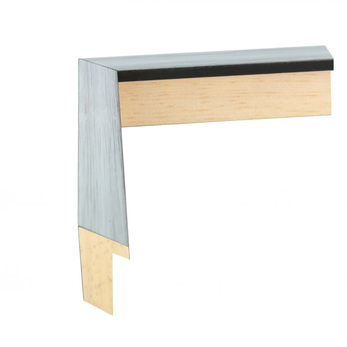 houten lijst LOFT 16 - Zilver 16 mm