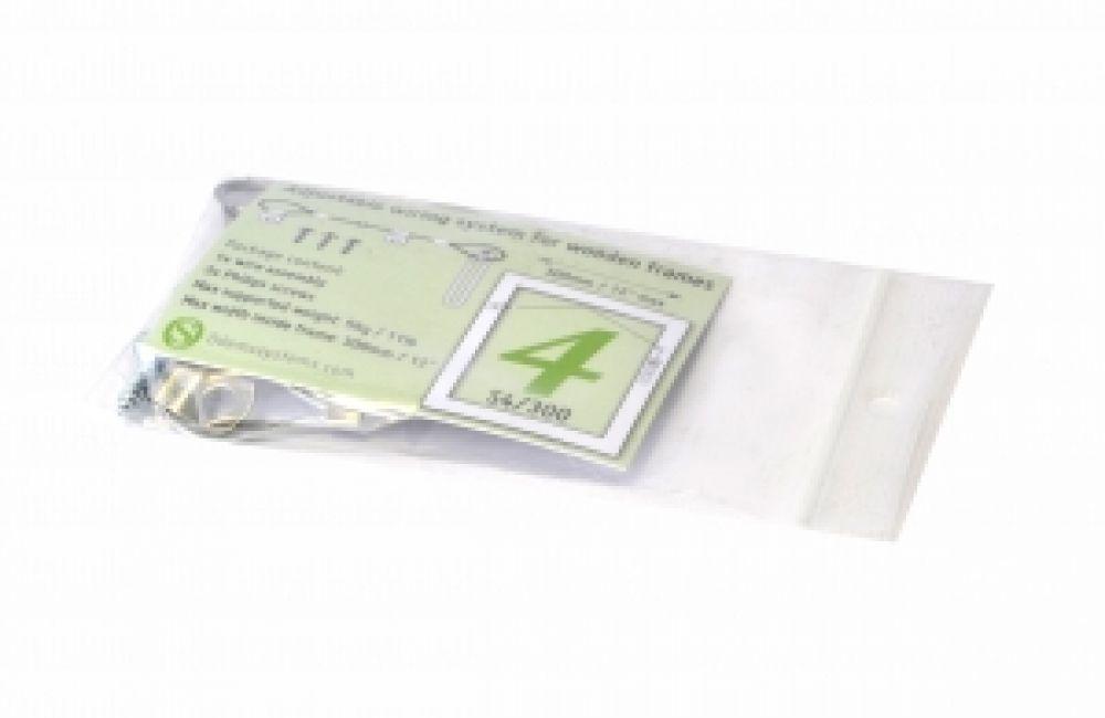 Ophangdraad compleet (30 cm) - lijst t/m gewicht 5 kg