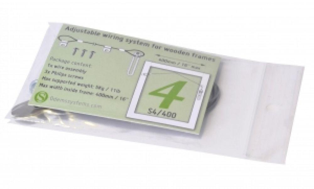 Ophangdraad compleet (40 cm) - lijst t/m gewicht 5 kg