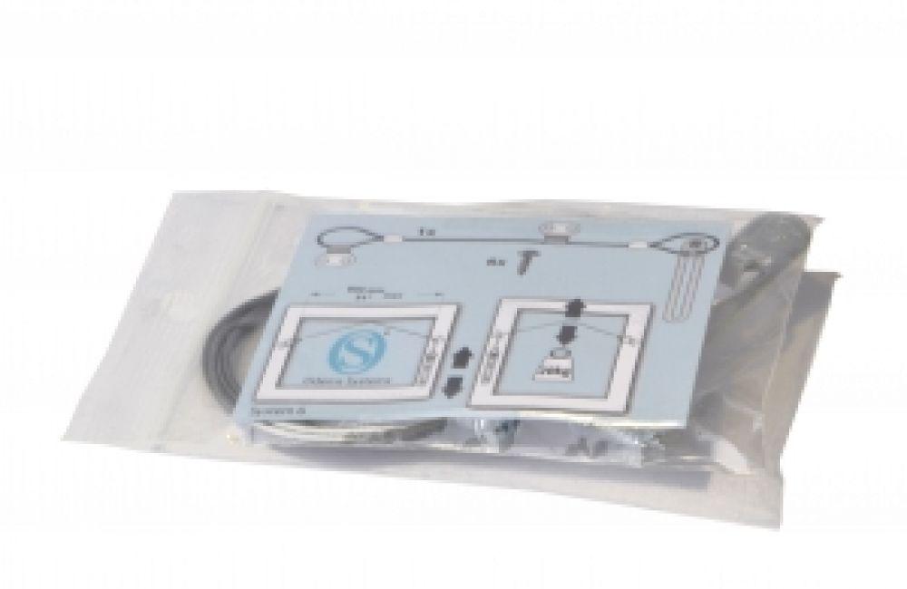 Ophangdraad compleet (80 cm) - lijst t/m gewicht 20 kg