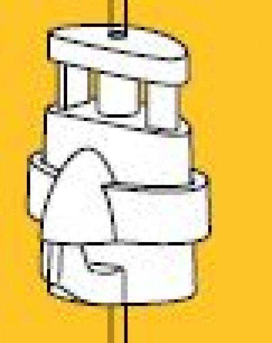 ophanghaak  Micro grip/loqqer 2 mm