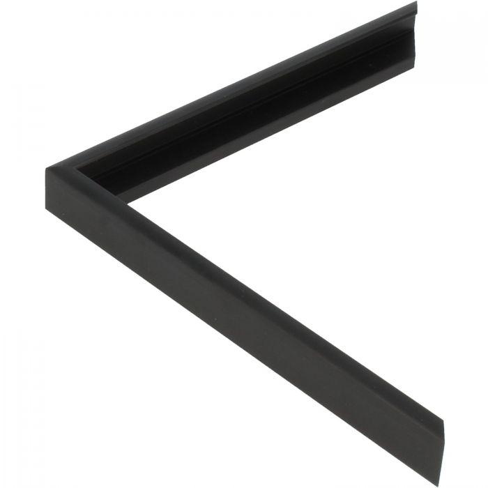 Profiel 404 - Geborsteld zwart mat