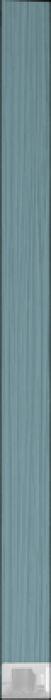 spacer  D8-314 licht blauw inleg profiel