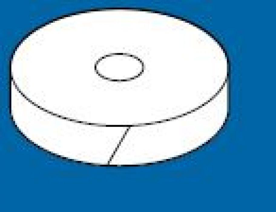 Bladzilver Breedte 10 mm, lengte 50 meter.