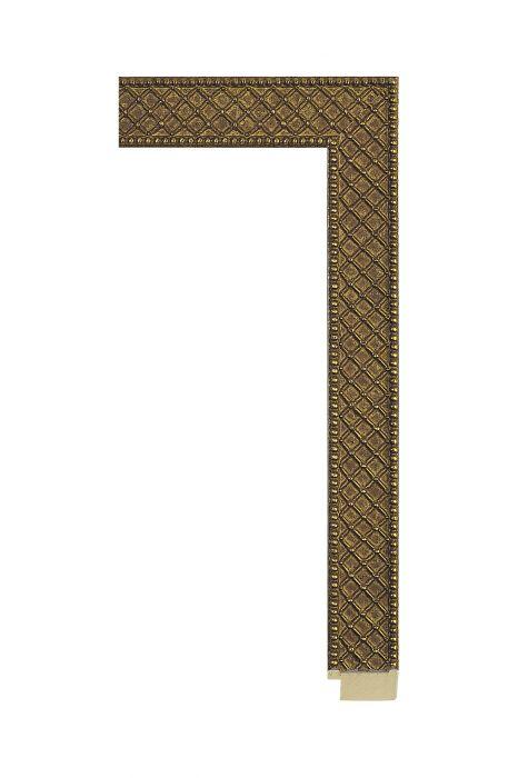 Houten lijst - ALLEGRA - Antiek goud 29 mm breed