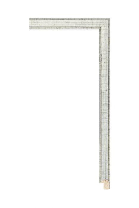 Houten lijst - APART III - Antiek zilver 16 mm breed