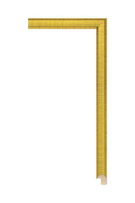 Houten lijst - APART III - Dukatengoud 16 mm breed