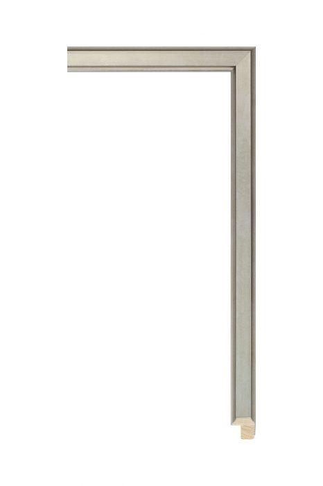 Houten lijst - APART III - Zilver 16 mm breed