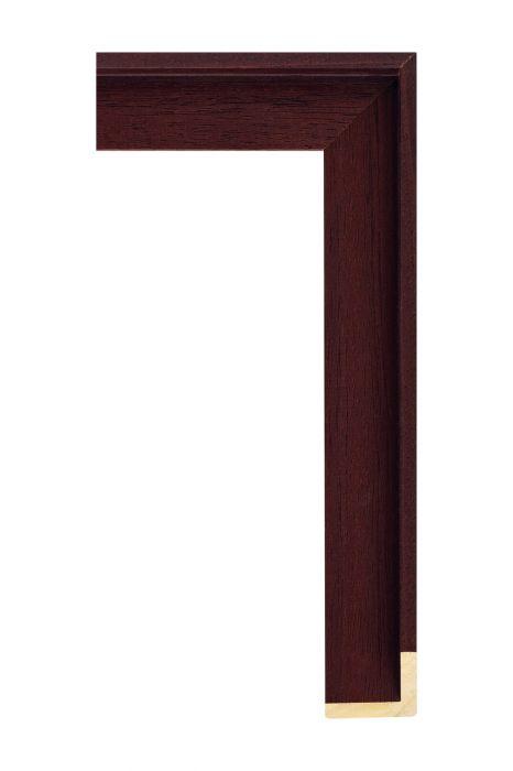 Houten lijst - AVANT I - Fuchsia baklijst 40 mm breed