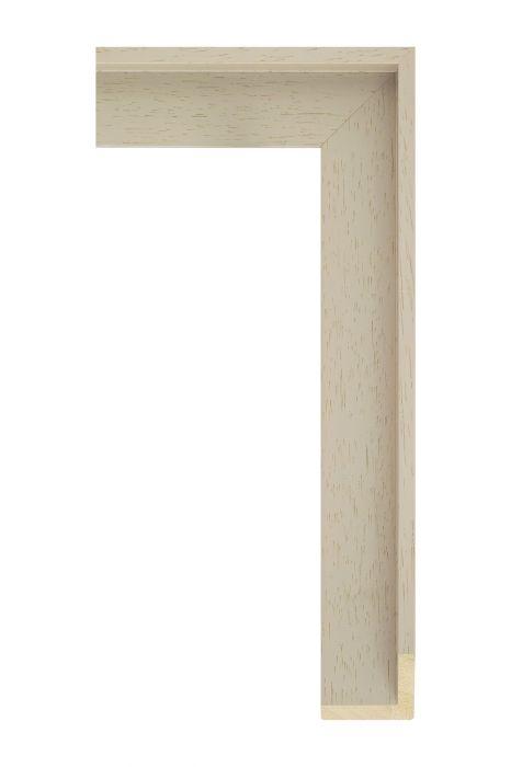 Houten lijst - AVANT I - Geel baklijst 40 mm breed