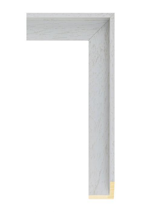 Houten lijst - AVANT I - Groen, zijdenglans baklijst 40 mm breed
