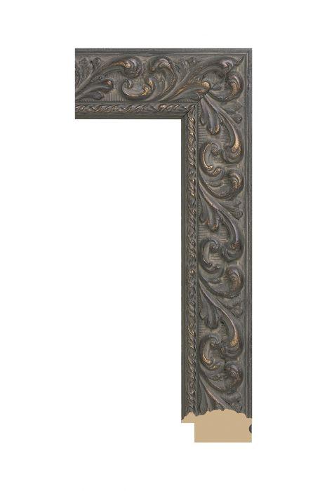 Houten lijst - BILTMORE - Brons 56 mm breed