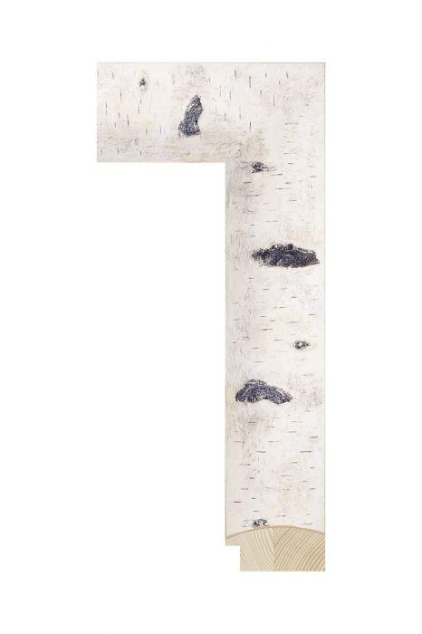 Houten lijst - BIRCHWOODS - Berken 55 mm breed