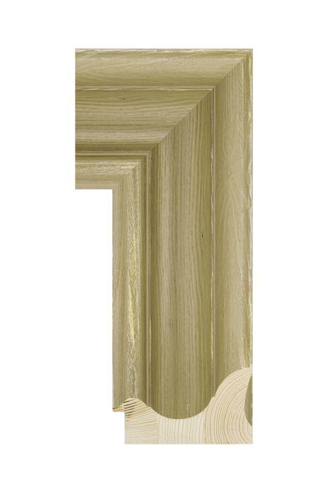 Houten lijst - BRIMFIELD - Bruin 100 mm breed