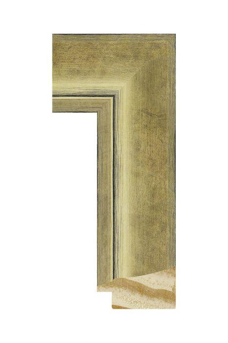 Houten lijst - CORONA - Goud 42 mm breed
