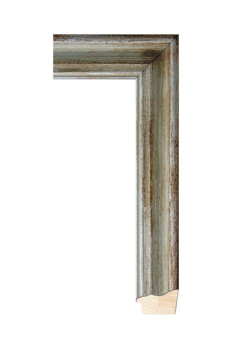 Houten lijst - DEGAS - Zilver 41 mm breed