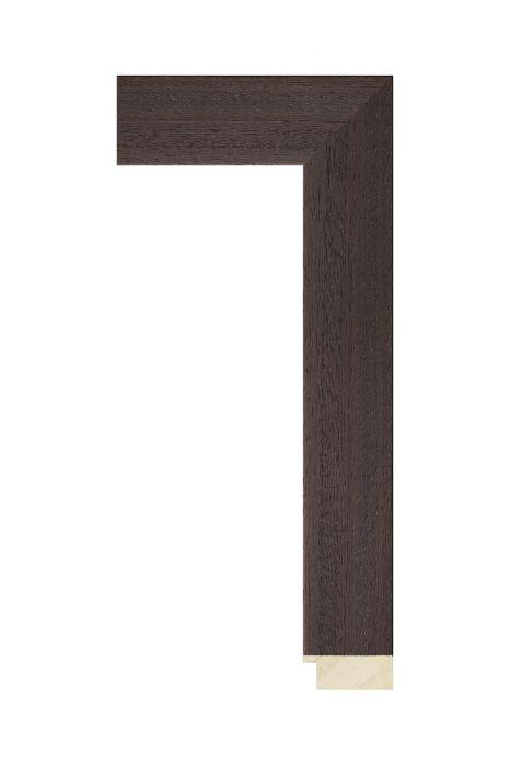 Houten lijst - FINN - Wenge 44 mm breed