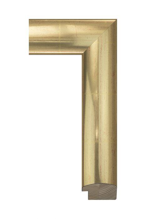 Houten lijst - FLAT - Deens goud 55 mm breed