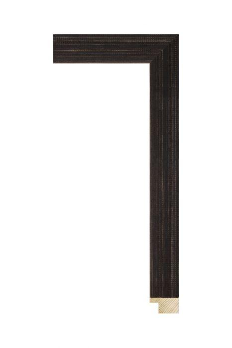 Houten lijst - KIDOVA - Donkerbruin 32 mm breed