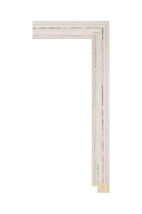 Houten lijst - KIDOVA - Wit 32 mm breed