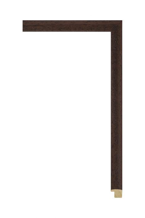Houten lijst - LINE - Donkerbruin 16 mm breed
