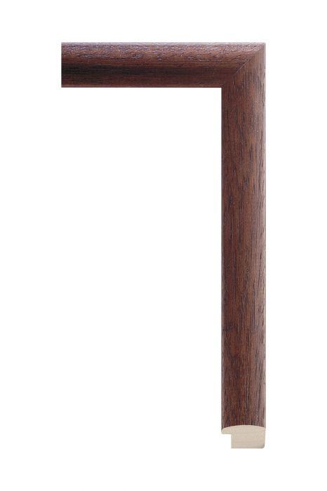 Houten lijst - LINE - Donkerbruin 26 mm breed