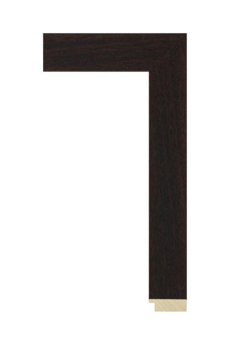 Houten lijst - LINE - Donkerbruin 40 mm breed
