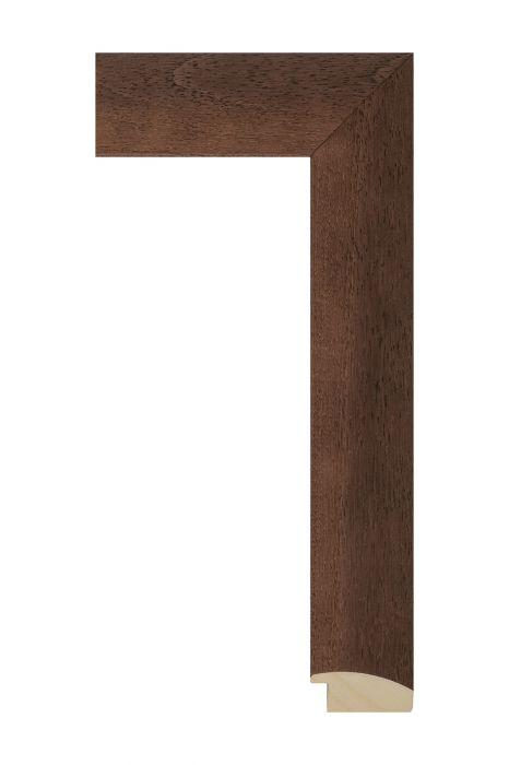 Houten lijst - LINE - Donkerbruin 46 mm breed