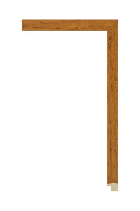 Houten lijst - LINE - Oranjebruin 16 mm breed