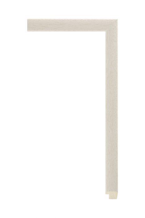Houten lijst - LINE - Wit 16 mm breed