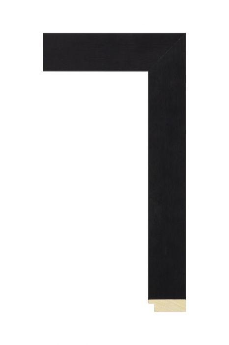 Houten lijst - LINE - Zwartbruin 40 mm breed