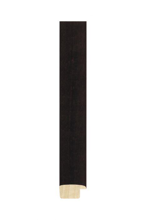 Houten lijst - NATURA - Donkerbruin 25 mm breed
