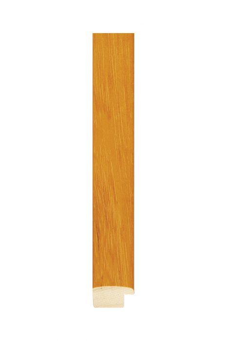Houten lijst - NATURA - Geel/oranje 25 mm breed