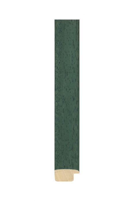 Houten lijst - NATURA - Groen 25 mm breed