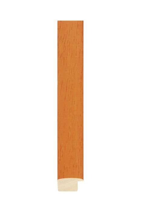 Houten lijst - NATURA - Oranje 25 mm breed
