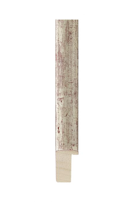 Houten lijst - NATURA - Zilver 20 mm breed