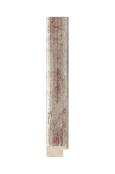 Houten lijst - NATURA - Zilver 23 mm breed