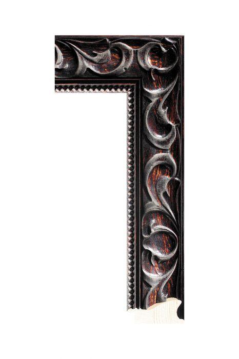 Houten lijst - NIKA - Bruin 60 mm breed