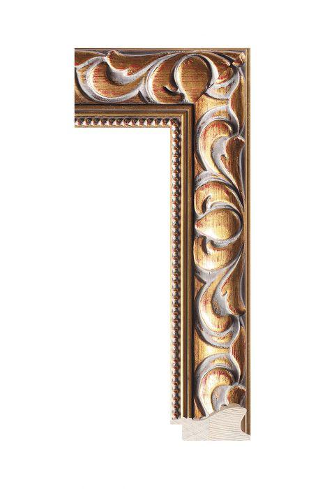 Houten lijst - NIKA - Goud 60 mm breed