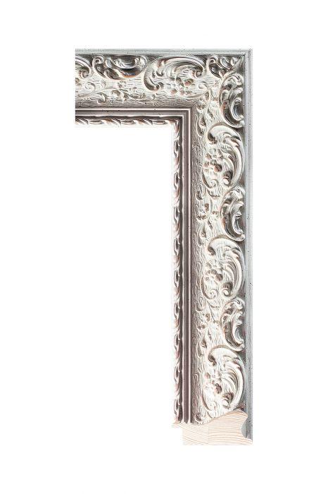 Houten lijst - NIKA - Wit 60 mm breed