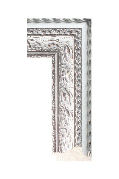 Houten lijst - NIKA - Wit 90 mm breed