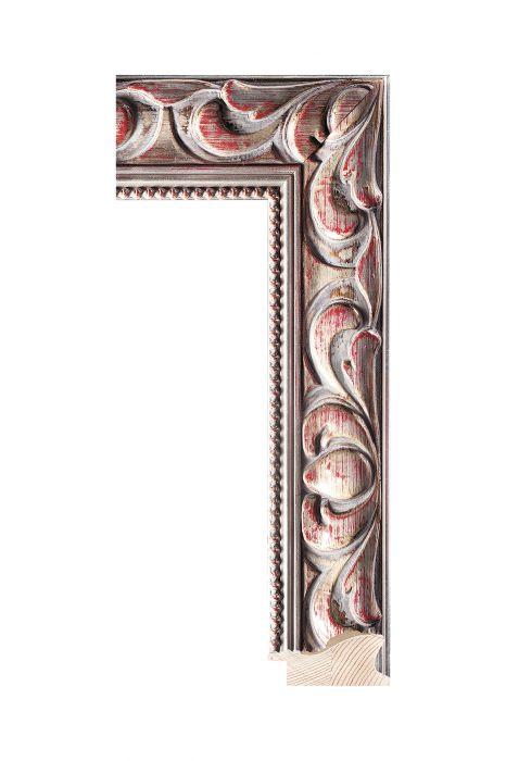 Houten lijst - NIKA - Zilver 60 mm breed