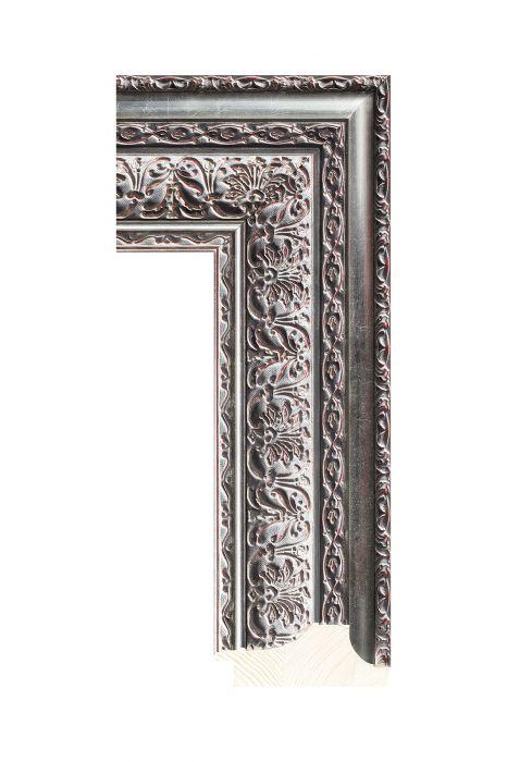 Houten lijst - NIKA - Zilver 90 mm breed