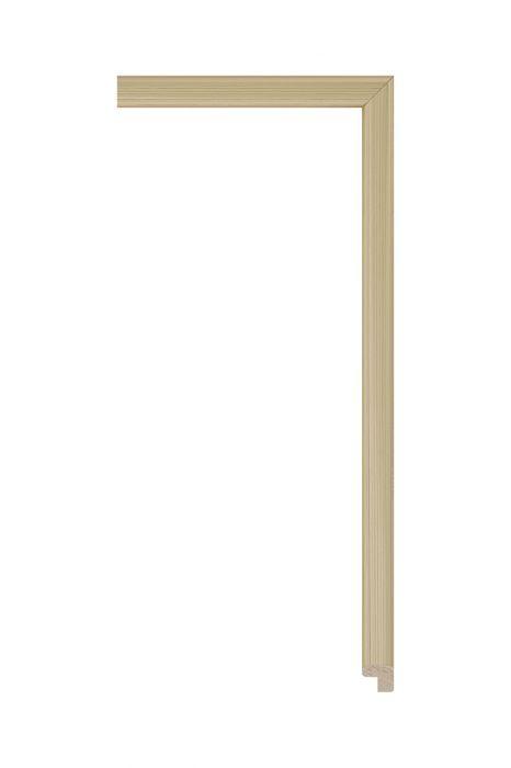 Houten lijst - PLUS - Goud 12 mm breed