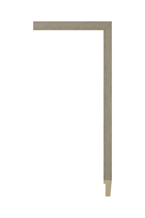 Houten lijst - PLUS - Lichtgrijs 16 mm breed