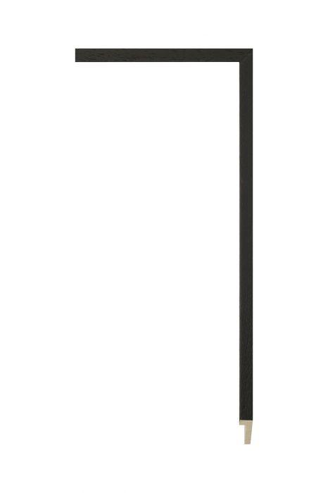 Houten lijst - PLUS - Mattzwart 10 mm breed